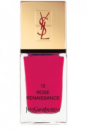 La Laque Couture Лак для ногтей №12 YSL. Цвет: бесцветный