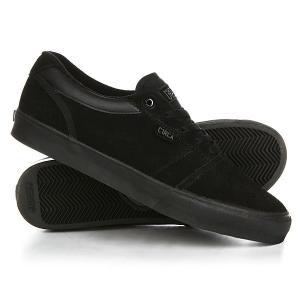 Кеды кроссовки низкие  Goliath Black/Dark Gull Circa. Цвет: черный