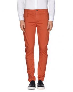 Повседневные брюки CRUNA. Цвет: лососево-розовый