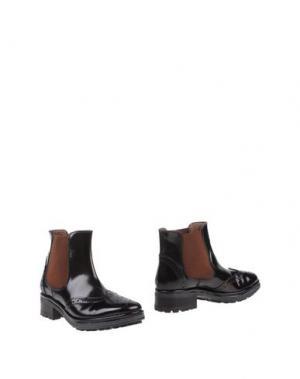 Полусапоги и высокие ботинки SAX. Цвет: темно-коричневый
