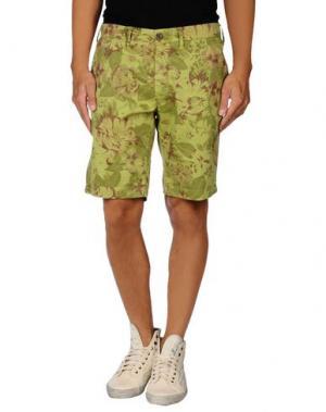 Бермуды UNIFORM. Цвет: кислотно-зеленый