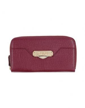 Бумажник VERSACE COLLECTION. Цвет: пурпурный
