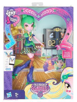 Кукла Шедоуболт Hasbro. Цвет: зеленый, желтый, синий