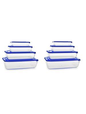 Контейнеры из полимеров Полимербыт. Цвет: голубой