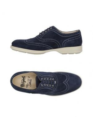 Обувь на шнурках BORGIOLI. Цвет: темно-синий