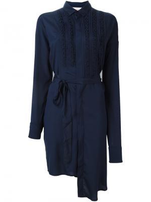 Платье Dashboard A.F.Vandevorst. Цвет: синий
