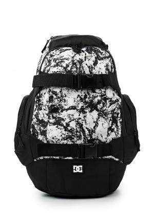Рюкзак DC Shoes. Цвет: черно-белый