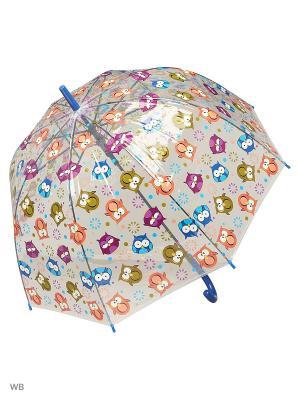 Зонт Modis. Цвет: прозрачный, оранжевый, желтый