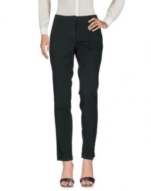 Повседневные брюки VIA MASINI 80. Цвет: темно-зеленый
