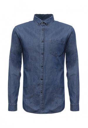 Рубашка джинсовая Celio. Цвет: синий