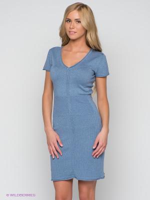 Платье Aaiko. Цвет: синий
