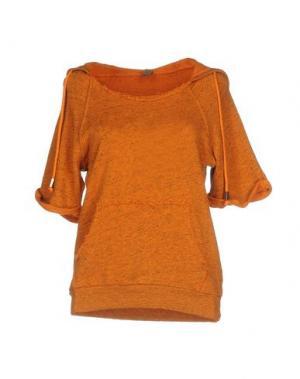 Толстовка JIJIL. Цвет: оранжевый