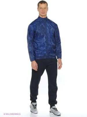 Куртка Lightweight Jacket ASICS. Цвет: белый, черный, светло-голубой