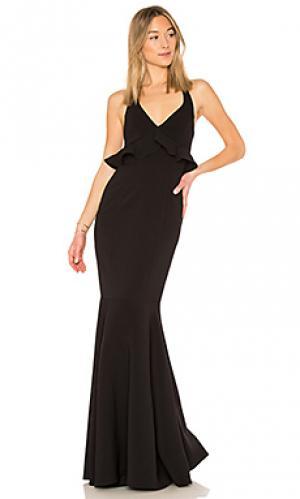 Вечернее платье eden LIKELY. Цвет: черный
