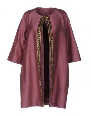 Легкое пальто DANIELA PANCHERI. Цвет: розовато-лиловый