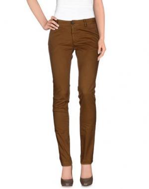 Повседневные брюки NICHOL JUDD. Цвет: верблюжий