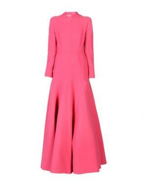 Длинное платье EMILIA WICKSTEAD. Цвет: фуксия