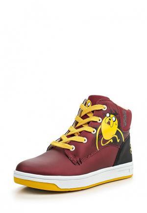 Ботинки Kakadu. Цвет: бордовый