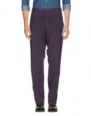 Повседневные брюки G.T.A. MANIFATTURA PANTALONI. Цвет: розовато-лиловый