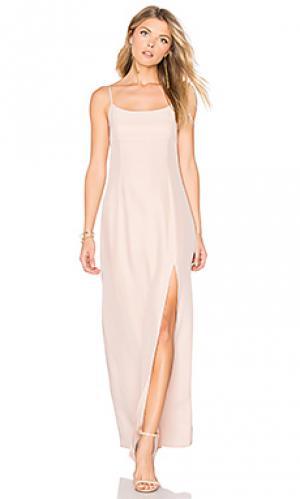 Вечернее платье christy STONE_COLD_FOX. Цвет: розовый