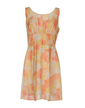 Короткое платье H2O ITALIA. Цвет: оранжевый