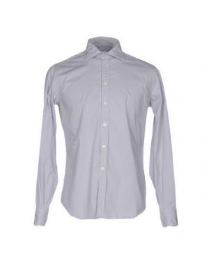 Pубашка BRANCACCIO C.. Цвет: светло-серый