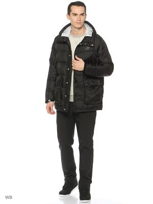 Куртка Mens Padded Parka Adidas. Цвет: черный