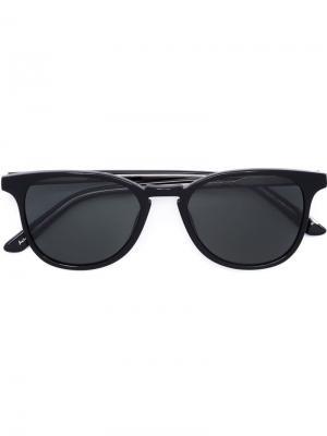 Солнцезащитные очки Olivier Krewe Du Optic. Цвет: чёрный