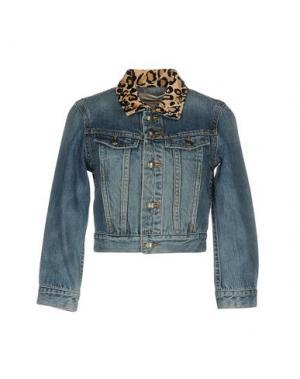 Джинсовая верхняя одежда MARC BY JACOBS. Цвет: синий