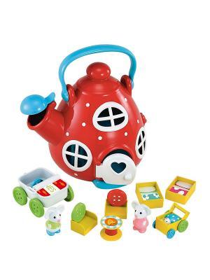 Мышиный домик Чайник (Серия Счастливая страна) ELC. Цвет: красный