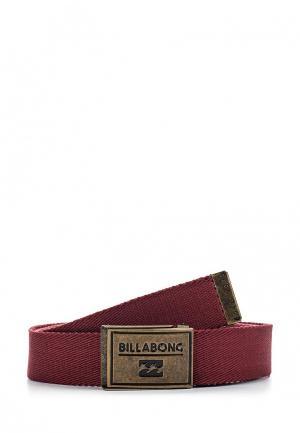 Ремень Billabong. Цвет: бордовый
