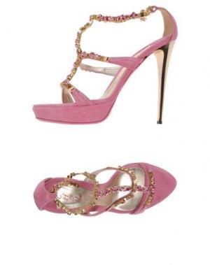 Сандалии CHON. Цвет: розовый