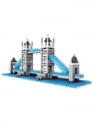 Nano Конструктор Лондонский Мост Склад Уникальных Товаров. Цвет: серый