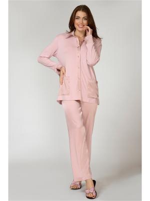 Домашний костюм Petit Pas. Цвет: бледно-розовый