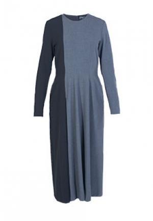 Платье NOLO. Цвет: серый