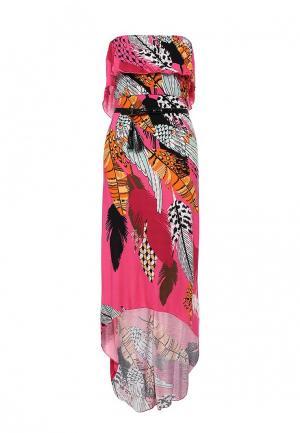 Платье пляжное Relax Mode. Цвет: разноцветный