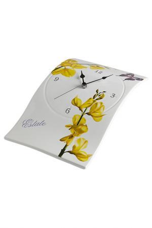 Часы настенные 20х34 см Ceramiche Viva. Цвет: мультицвет