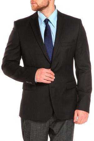 Пиджак J.Lindeberg. Цвет: черный, светло-серая полоска
