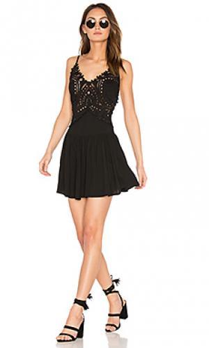 Короткое платье biarritz Cleobella. Цвет: черный