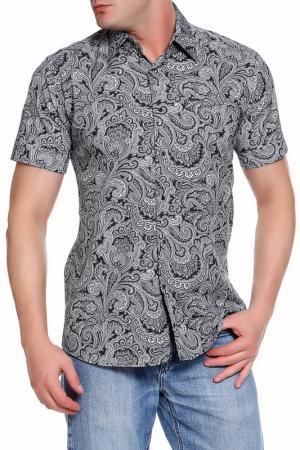 Рубашка Karl Lagerfeld. Цвет: серый