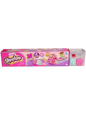 Игровой набор Shopkins: 20 фигурок и 4 рюкзачка Moose. Цвет: розовый