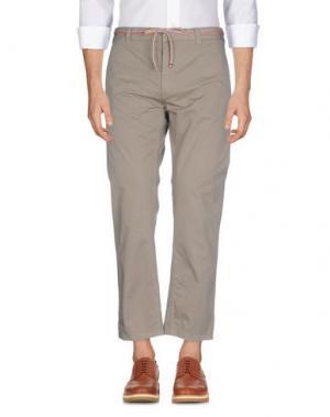 Повседневные брюки MARC JACOBS. Цвет: светло-коричневый