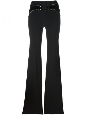 Расклешенные брюки Roberto Cavalli. Цвет: чёрный