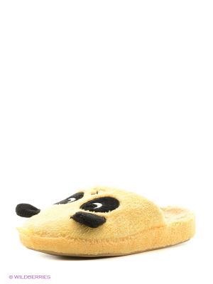 Тапочки детские Dream Feet. Цвет: желтый