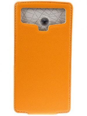 Partner ПР032067 Universal Flip-case 5.0 orange. Цвет: оранжевый