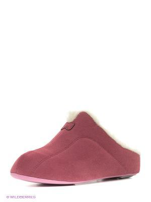 Тапочки Pansy. Цвет: розовый