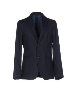 Пиджак INDIVIDUAL. Цвет: темно-синий