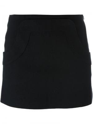 Короткая юбка Hache. Цвет: синий
