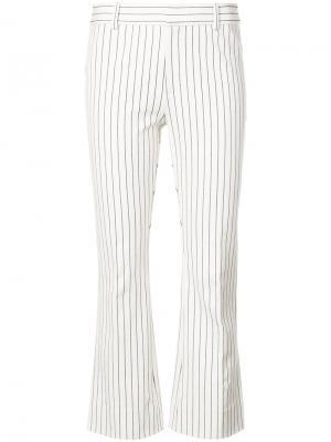 Укороченные брюки клеш Derek Lam 10 Crosby. Цвет: телесный
