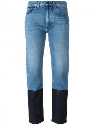Двухцветные джинсы Ports 1961. Цвет: синий
